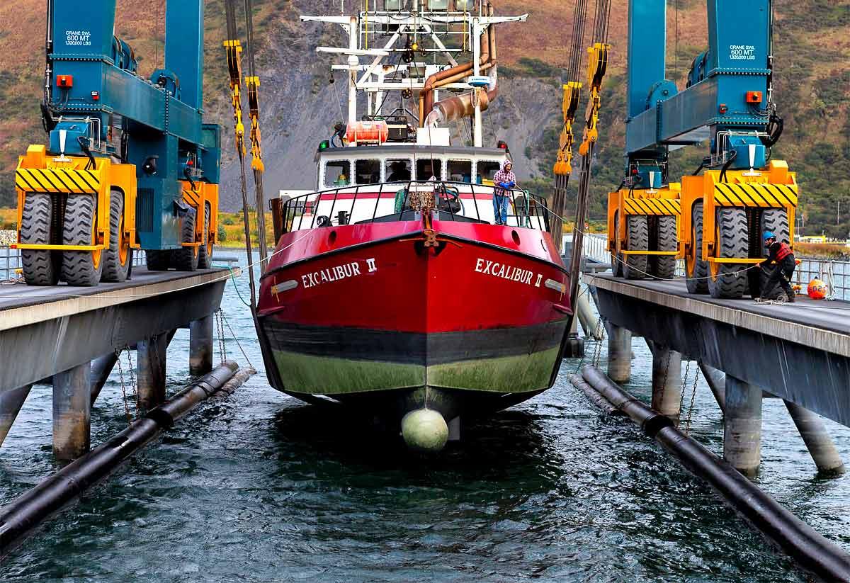 Red-Boat-Docking
